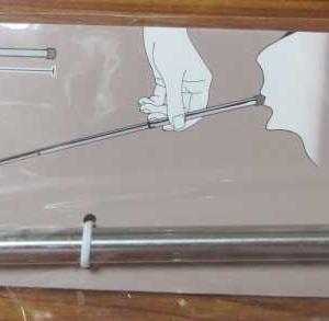100均のセリアで買った火吹き棒をイケてる火吹き棒に。