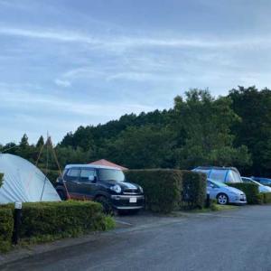 乙女森林公園第2キャンプ場でキャンプ詳細