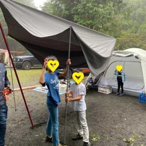 ACN西富士キャンプ場に行ってきました。