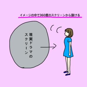苦しい現実ドラマから抜ける~簡単イメージワーク