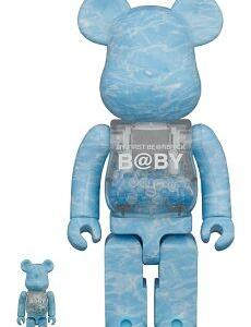 MY FIRST BE@RBRICK B@BY WATER CREST Ver.100% & 400%/1000%