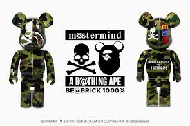 mastermind VS BAPE®️ BE@RBRICK 1000% (GREEN)