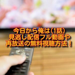 今日から俺は(1話)の見逃し配信フル動画&再放送の無料視聴方法!