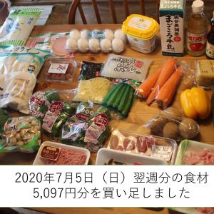 【週末まとめ買い報告】7月2週目の食材を写真で公開