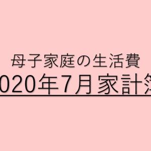 【子ひとり母子家庭の家計簿公開】2020年7月