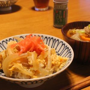 2020年9月16日(水)の晩ごはん「親子丼」と、夏野菜へのすがりつき