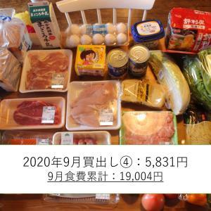【食費1.8万】子ひとり母子家庭1週間分の食材を写真で公開(9月22日(火)~10月3日(土)分)