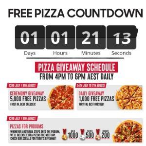 ピザハットでピザを17日間無料で提供しています♡