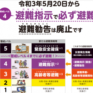 台風14号で愛媛県大洲市青島に避難指示、土砂災害警戒情報が発令