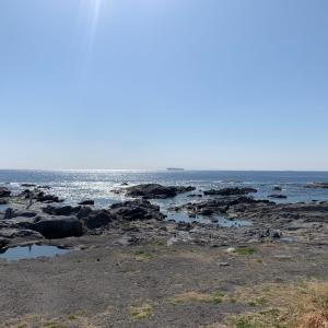 久々に海を見てキタァ よんな〜よんな〜