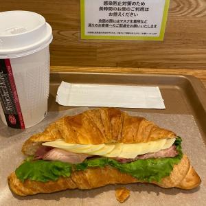 フランスNO1カフェのサンドイッチ