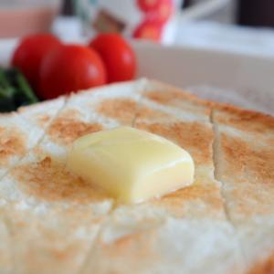 発酵バタートーストの朝ごはん