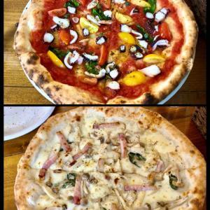 久々、ピザ食べに
