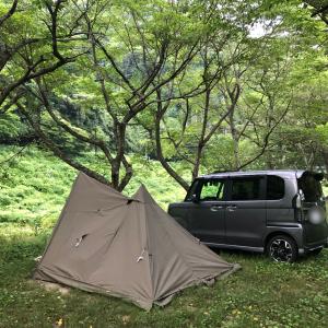 ソロキャン2日目