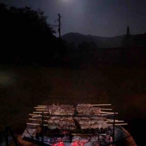 お月見キャンプ2日目