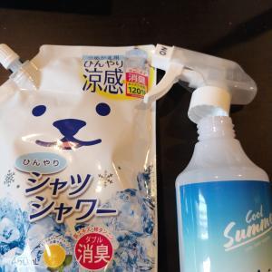 【熱中症対策グッズ】話題のひんやりシャツシャワーの使用感とおすすめの使い方!