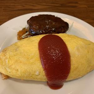 【キッチンパンチ】オムライスハンバーグのっけランチが神!中目黒にある食べログ百名店の洋食屋!