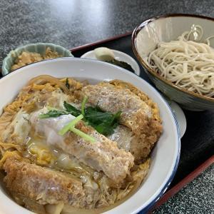 【朝日屋】中目黒の東山にある蕎麦屋!かつ丼と冷かけ蕎麦セットが日本人に沁みる!