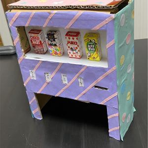 【簡単にできる自動販売機】2歳の娘も大喜び!お家時間を楽しく過ごそう!