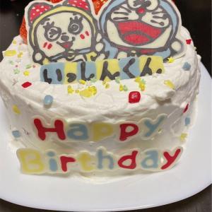 【誕生日】子供の誕生日にケーキ作り