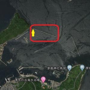 7月17日 家島本島 北一文字