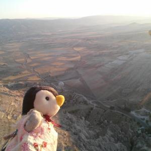 トルコのカッパドキアで憧れの気球ツアーへ!ペンギンついに空を飛ぶ!