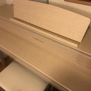 ピアノが届いた!