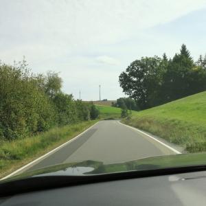 9月のドイツその8 ドライブ旅行の醍醐味