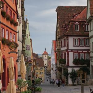 9月のドイツその9 観光名所ローテンブルクの薄暗い過去