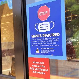 カリフォルニア州のマスク着用義務が緩和。直後の屋内店舗の状況&経済活動全面再開で相次ぐパンデミック関連製品のセール。