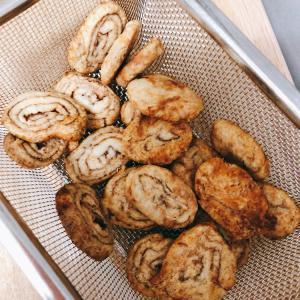シナモン&チョコくるくるクッキー