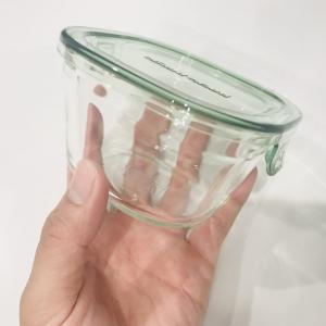 【脱プラ実行】イワキのガラス保存容器が届いたよ