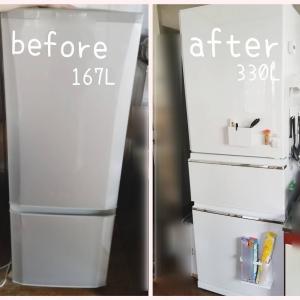 給付金で冷蔵庫を買い替えました!