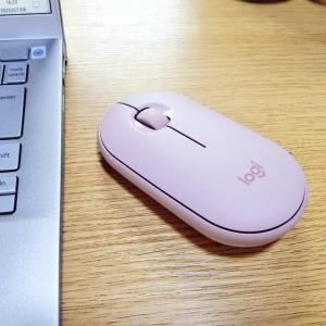 お気に入りの可愛いワイヤレスマウス♪