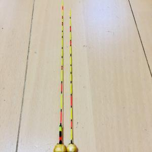 day181  自作ウキ 底釣り用20cm 22cm