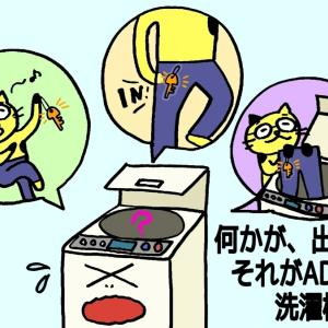 【ADHD】洗濯機から出てくる思わぬ品々