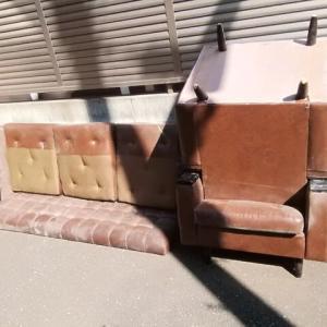 秘密基地建設その38:粗大ごみの搬出