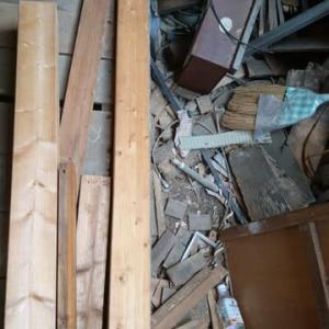 秘密基地建設 その90:窓枠の敷居作り