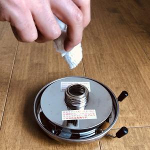【アルポット】ガラス芯の交換と給油〈メンテナンス〉