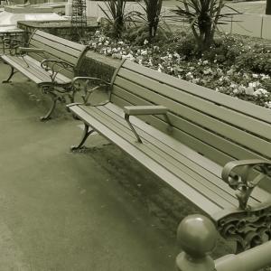 このベンチで待っていて