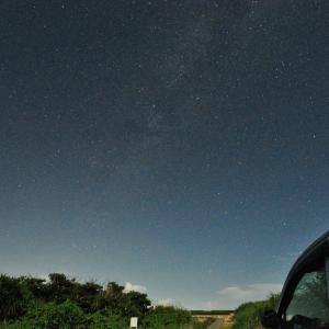 ムスヌン浜での天体観測
