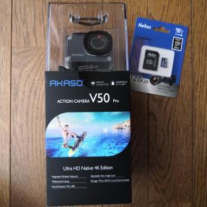 中国アクションカメラ AKASO V50 PROを購入
