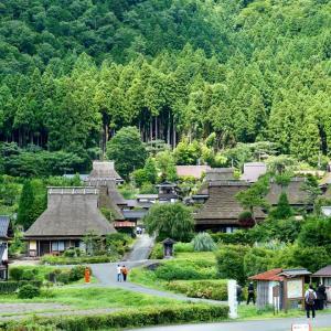 「かやぶきの里」美山の夏