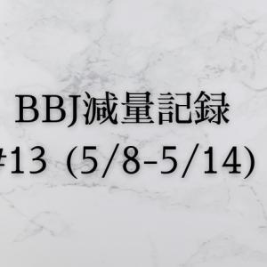 ベストボディジャパン 減量記録(5/8~5/14)