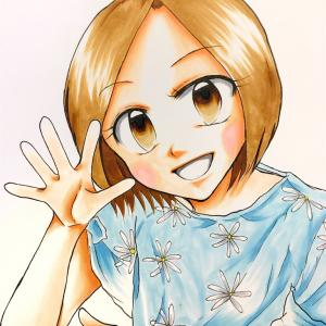 イラスト〜次女 お気に入りのパジャマ〜