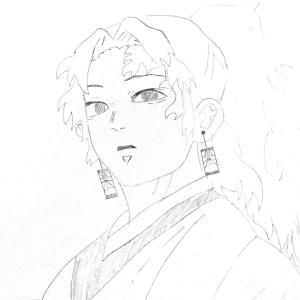 鬼滅の刃〜小6長女イラスト集鉛筆描き〜