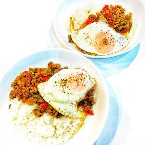 タイ料理 ガパオライスにチャレンジ