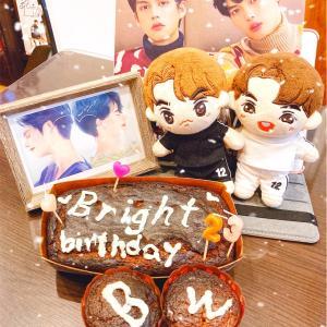 Bright happy birthday☆
