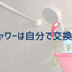 「シャワーは自分で交換!」ついでにバスタイムもランクアップしちゃえ!