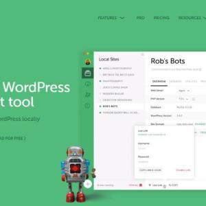 【WordPress開発が簡単】LocalbyFlyWheelの使い方